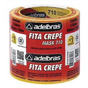 FITA CREPE 710 MASK CREPE 48MMX50M ADELBRAS