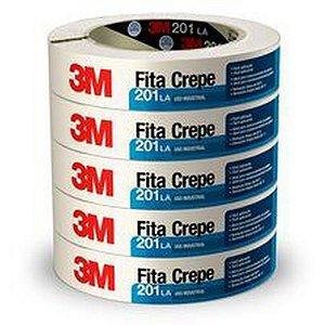 FITA CREPE SCOTCH 201LA BRANCA 18MMX50MT 3M
