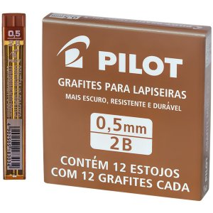 Grafite 0.5Mm 2B 12Tubosx12Minas Pilot