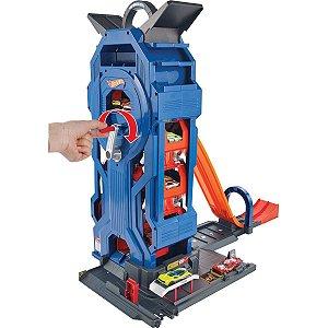 Hot Wheels Pista E Acessorio Garagem Rotativa Mattel