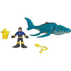Imaginext Jurassic World Fig.c/acess.sor Mattel