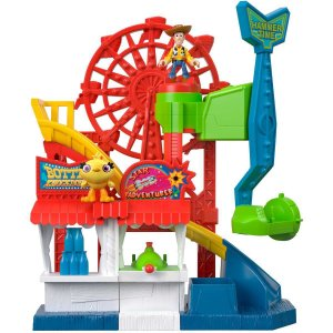 Imaginext Toy Story 4 Carnival Playset Mattel