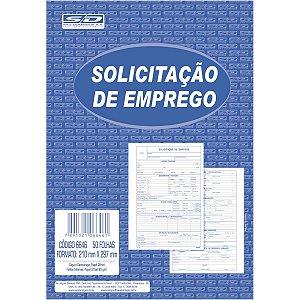 Impresso Trabalhista Solicitacao Emprego 50 Folhas Sao Domingos