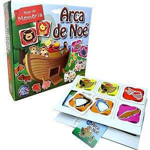 Jogo Da Memoria Arca De Noe 40 Pecas Pais E Filhos
