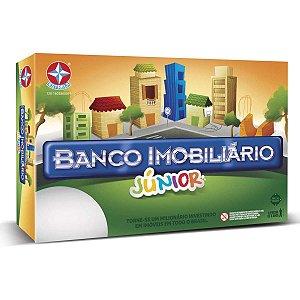 Jogo De Tabuleiro Banco Imobiliario Jr. Estrela