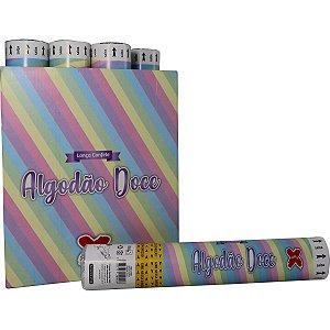 Lancador De Confete Algodao Doce Papel 30Cm Make+
