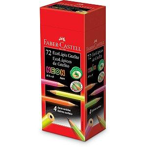 Lapis Preto Redondo Ecolapis 1205 Max Neon Faber-Castell
