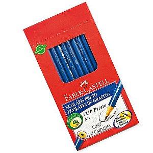 Lapis Preto Redondo Ecolapis Presto S/borracha Faber-Castell