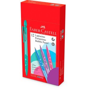 Lapiseira 0.7Mm Bubble Pastel Mix Faber-Castell