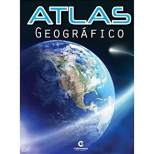 Livro Atlas Geografico Escolar 32Pgs Culturama