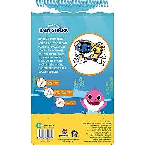 Livro Brinquedo Ilustrado Baby Shark Aquabook Culturama