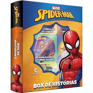 Livro Brinquedo Ilustrado Homem Aranha Box Hist. C/6 Culturama