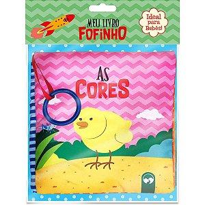 Livro Brinquedo Ilustrado Meu Livro Fofinho As Cores Vale Das Letras