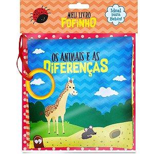 Livro Brinquedo Ilustrado Meu Livro Fofinho Os Animais Vale Das Letras