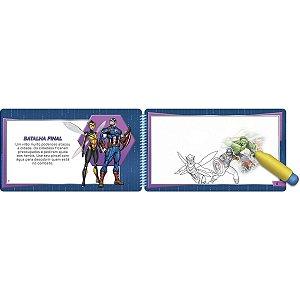 Livro Brinquedo Ilustrado Vingadores Aquabook Culturama