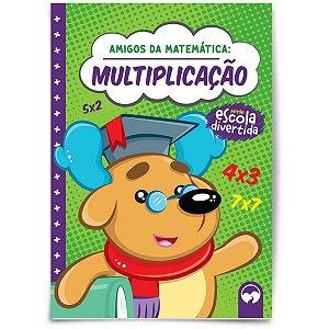 Livro Ensino Amigos Da Matematica Multiplic Vale Das Letras