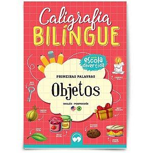 Livro Ensino Caligrafia Bilingue Objetos Vale Das Letras