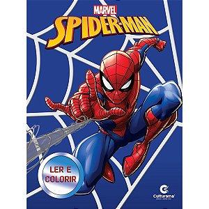 Livro Infantil Colorir Marvel Ler E Colorir 8Pgs Sort Culturama