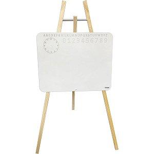 Lousa Infantil Cavalete Branco 30X40Cm Cortiarte