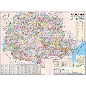 Mapa Periodico Estado Do Parana Multimapas