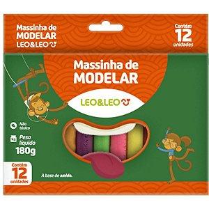 Massa Para Modelar Leoleo 12 Cores Leonora