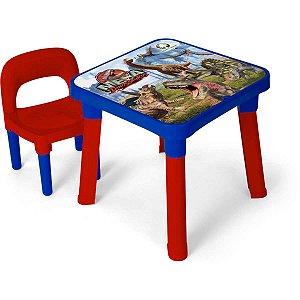 Mesinha Dinossauros C/cadeira Monte Libano