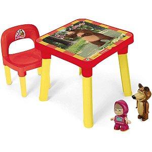 Mesinha Masha E O Urso C/cadeira Monte Libano