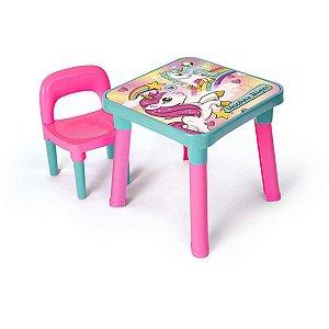 Mesinha Unicornio Magico C/cadeira Monte Libano