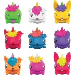 Miniatura Colecionavel Pooparoos Pacote 3 Personagens Mattel