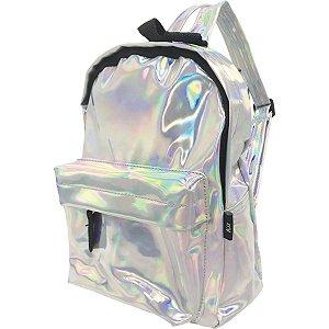Mochila Escolar Holografica Md 1Ziper Kit