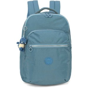 Mochila Escolar Up4You Gd 4Bolsos Azul Luxcel