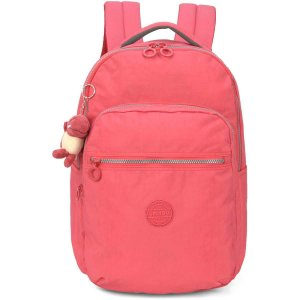 Mochila Escolar Up4You Gd 4Bolsos Salmao Luxcel