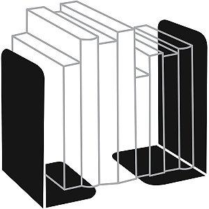 Organizador De Escritorio Suporte P/livros Metal Preto Cavia