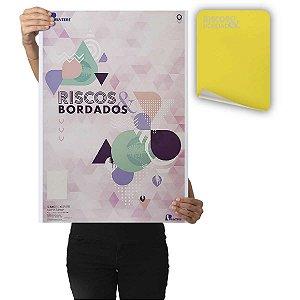 Papel Carbono Para Costura Riscos E Bordados Amarelo Printers