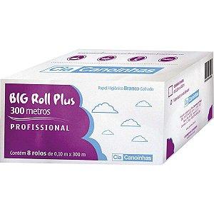 Papel Higienico Big Roll Folha Simples 300M Cia Canoinhas