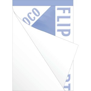 Papel Para Flip-Chart Serrilhado 635X840Mm 50F.75G Romitec