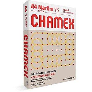 Papel Sulfite A4 Colorido Chamex 75G Marfim International Paper