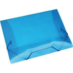 Pasta Aba Elastica Plastica Mini Azul Acp