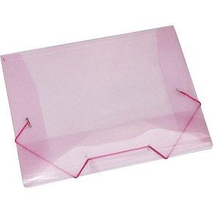 Pasta Aba Elastica Plastica Mini Rosa Acp