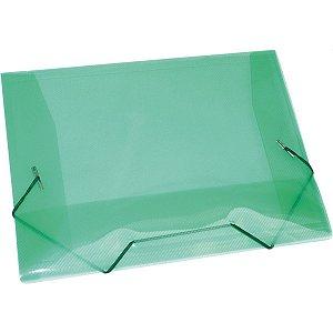 Pasta Aba Elastica Plastica Mini Verde Acp
