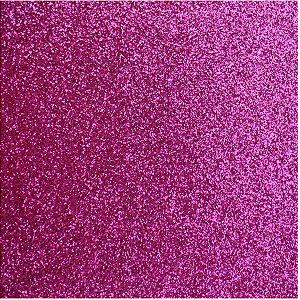 Placa Em Eva Com Gliter 40X48Cm. Pink 2Mm. Make+