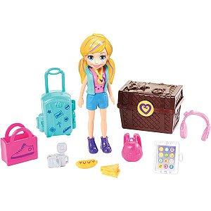 Polly Kit De Viagem Mattel