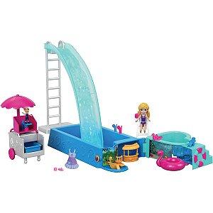Polly Piscina Surpresas Escondidas Mattel