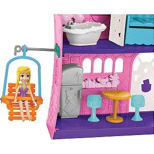 Polly Polly Casa Do Lago Mattel