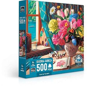 Quebra-Cabeca Cartonado Casa De Veraneio 500Pcs Toyster