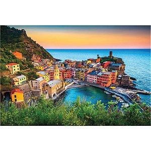 Quebra-Cabeca Cartonado Italia Premium 1000 Pcs Pais E Filhos