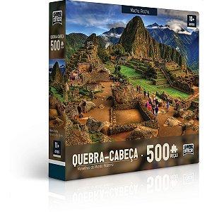 Quebra-Cabeca Cartonado Maravilhas Mundo Moderno 500Pc Toyster