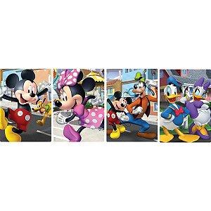 Quebra-Cabeca Cartonado Mickey E Turma 60Pcs Sort. Toyster