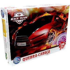 Quebra-Cabeca Cartonado Premium Race 150 Pecas Pais E Filhos