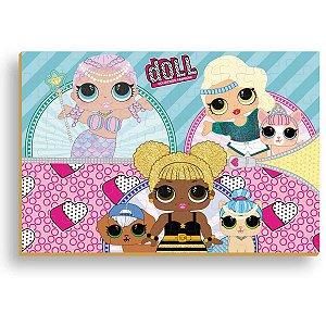 Quebra-Cabeca Madeira Doll 108 Pecas Brinc. De Crianca